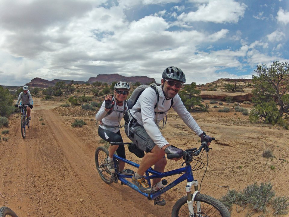 Maze Tandem mountain biking