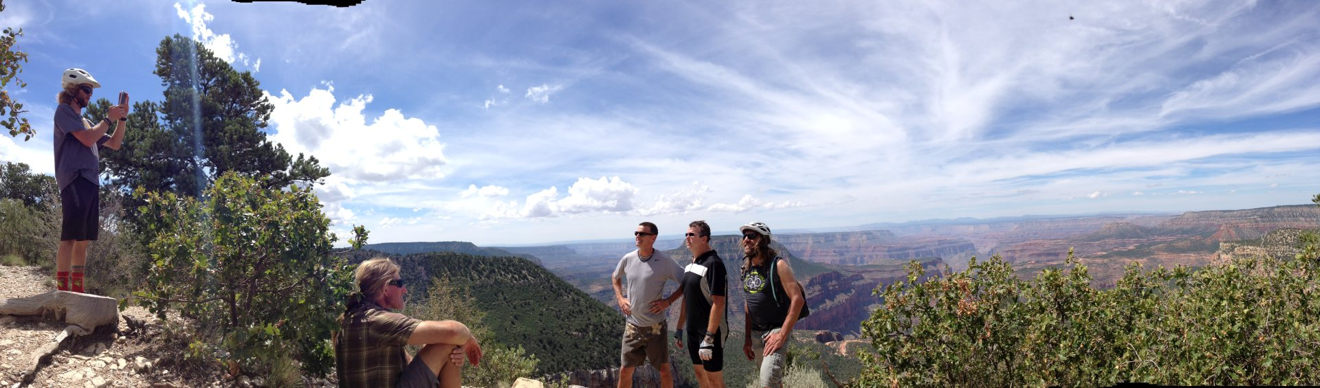 Picture yourself at the Grand Canyon